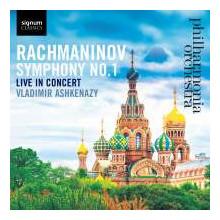 Rachmaninov: Sinfonia N.1 - Live