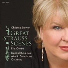 STRAUSS: Christine Brewer canta Strauss