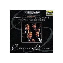 CORIGLIANO: Quartetti per archi HAYDN: Quartetto N.5 Op.76