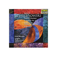 SZYMANOWSKI: Overture - Sinfonia N.2