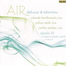 TAKEMITSU & DEBUSSY: Musica per arpa