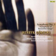 """GORECKI: Sinfonia N.3 """"Sorrowful Songs"""""""