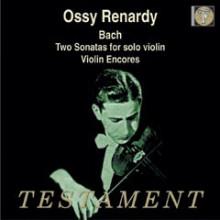 Ossy Renardy esegue Bach e Paganini