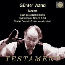 Gunther Wand dirige Mozart Vol.2