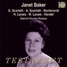 Baker esegue Scarlatti - Monteverdi - Lawes