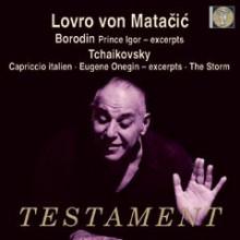 Von Matacic dirige Borodin e CIAIKOVSKY