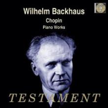 Backhaus suona musiche di Chopin