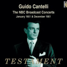 CANTELLI: The NBC broadcast Concerts