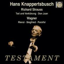 Knappertbusch dirige Strauss e Wagner