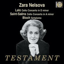 Zara Nelsova esegue conc. x violoncello