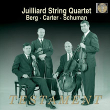 Berg - Carter - Schumann: Quartetti X Archi