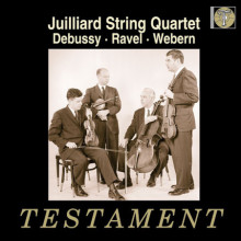 Juillard String Quart. suona Debussy etc