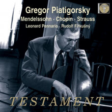 Piatigorsky suona Chopin - Mendelssohn