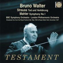 Walter Dirige Strauss E Mahler