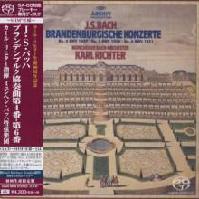 BACH: Concerti Branderburghesi NN.4 - 6