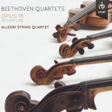 BEETHOVEN: Quartetti Op.18 - NN.3 - 5