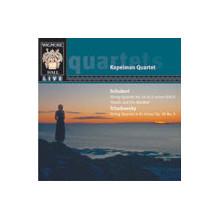 CIAIKOVSKY/SCHUBERT: Quartetti x archi