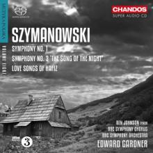 SZYMANOWSKI: Sinfonie NN.1 & 3
