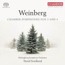 WEINBERG: Chamber Symphony NN. 3 & 4