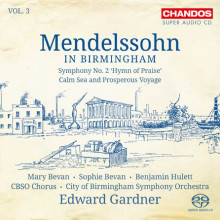 Mendelssohn In Birminghan - Vol.3