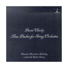 CHESKY D.: Tre Salmi x orchestra d'archi
