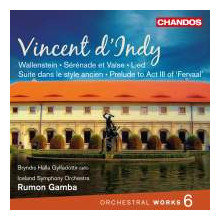 D'INDY: Opere orchestrali - Vol.6