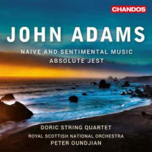 ADAMS JOHN: Naive and sentimenta Music