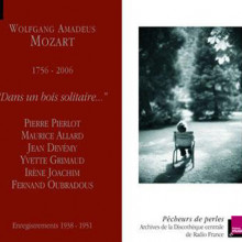 Mozart: Dans En Bois Solitaire......