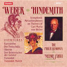 Weber: 5 Overtures