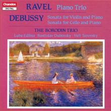 RAVEL - DEBUSSY: Trii con piano - B467