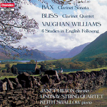 BAX - BLISS - V. WILLIAMS: Oper per clarinetto