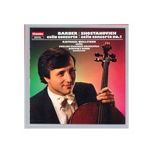 BARBER - SHOSTAKOVICH: Concerti per cello