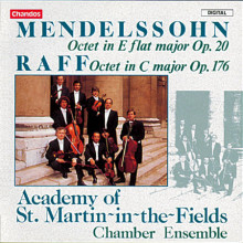 MENDELSSOHN - RAFF: Ottetti