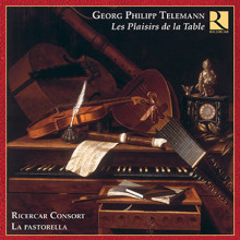 Telemann: Les Plaisirs De La Table (7cd)