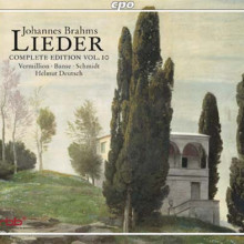 BRAHMS: Lieder - Vol.10