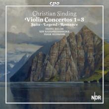 SINDING: Le Opere x violino e orchestra