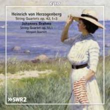 HERZOGENBERG: Quartetti per archi Op.42