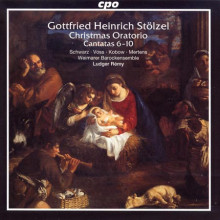 STOLZEL: Oratorio di Natale - Cantate 6 - 10