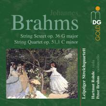 BRAHMS: Sextet op. 36 - Quartet op. 51 - 1