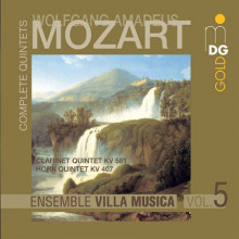 Mozart: Compete String Quintets Vol. 5