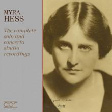 MYRA HESS:Complete Solo & Concerto......