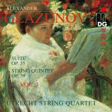 Glazunov: String Quartets Vol. 3 - Op. 3