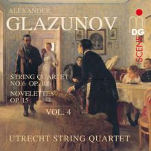Glazunov: String Quartets Vol. 4 - Op. 1