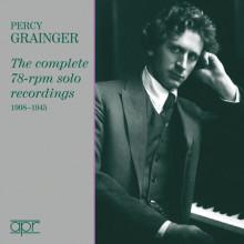 GRAINGER:Complete solo recording 1908/45