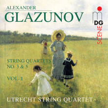 Glazunov: String Quartets Vol. 1 - No. 3