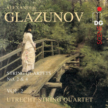 Glazunov: String Quartets Vol. 2 - No. 2