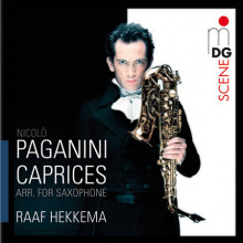 PAGANINI: 24 Caprices op. 1 (arr. for sa