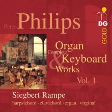 PHILIPS P.: Opere per tastiera Vol.1