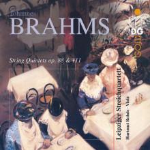 BRAHMS: Streichquintette op. 88 & 111