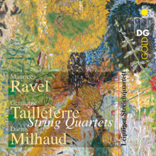 Ravel - Tailleferre - Milhaud:string Quart